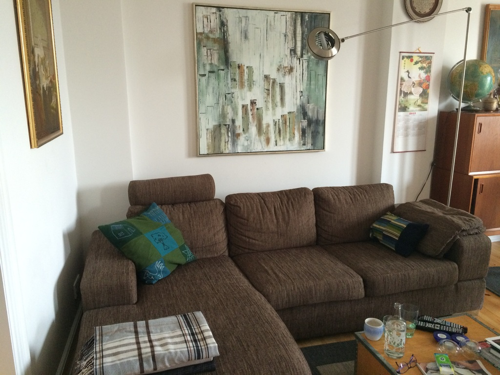 Living room- couch