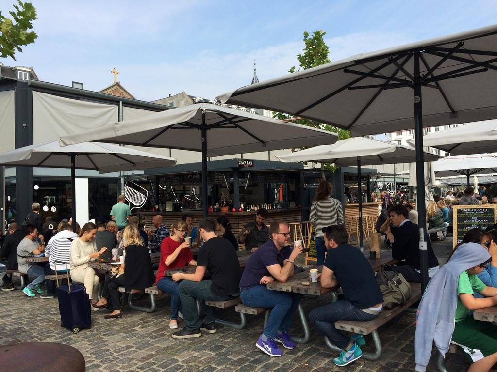 Foodmarket/ torvehallerne - outdoor