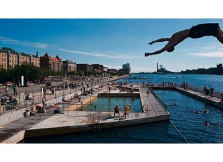 You can swim in the harbour - only 4 km from our home