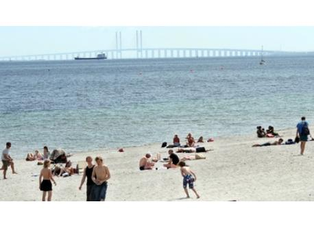 Amager Beach - 7 km or 10 min. by metro.