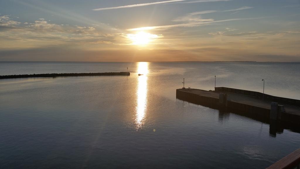 From the harbour in Bagenkop
