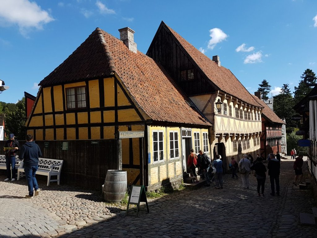 The Old City, a museum in Aarhus