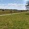 Biking path to Trekroner Center along Himmelev Stream