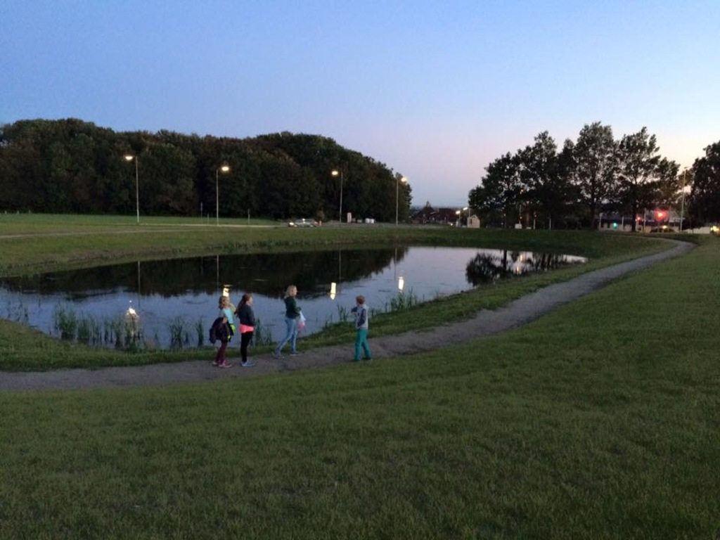 Little local lake in Lystrup