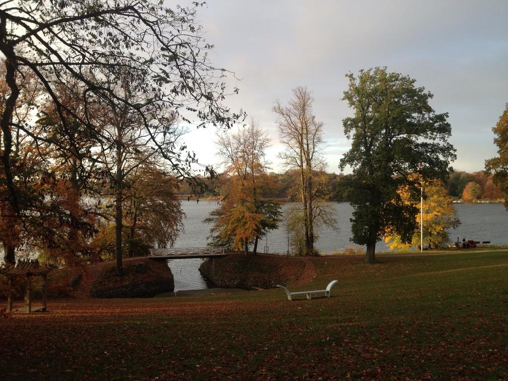Sophienholm garden at Bagsværd lake