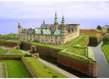 Kronborg, the home of Hamlet. Less than an hour from our home