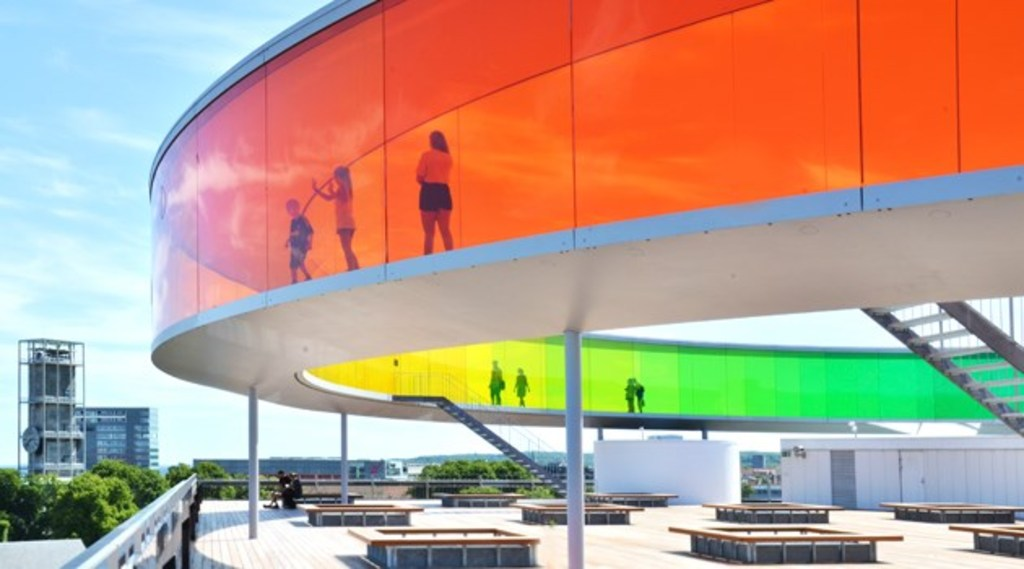 Rainbow Panorama at Aros Art Museum