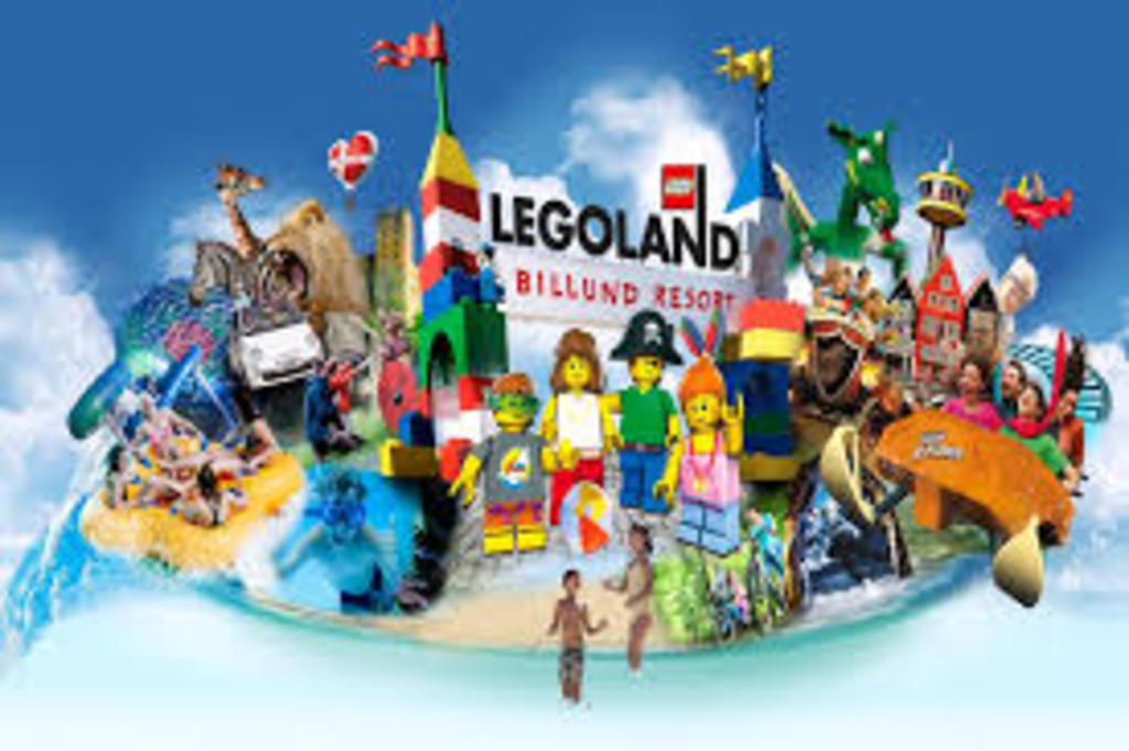 Legoland in Billund, not far from Odder