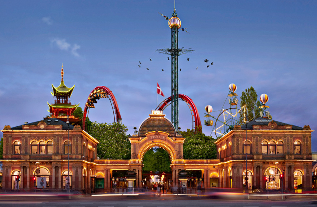 Tivoli amusement park