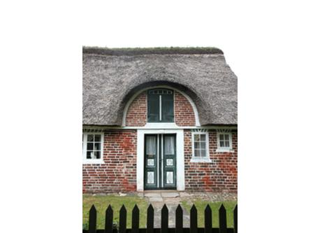 Old house on Fanoe island. A wonderful place to visit on a daytrip.Only two hours drive away!