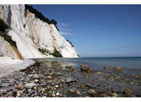 Møns Klint. Go to the beach – and get soaked and wet.