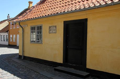H.C. Andersen's Childhood Home. 20 minutes walk away.
