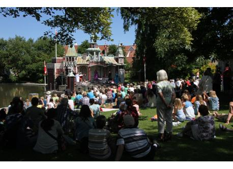 The children's fairytale island. The Hans Christian Andersen Parade. Free theatre every day all summer. Great for children as...