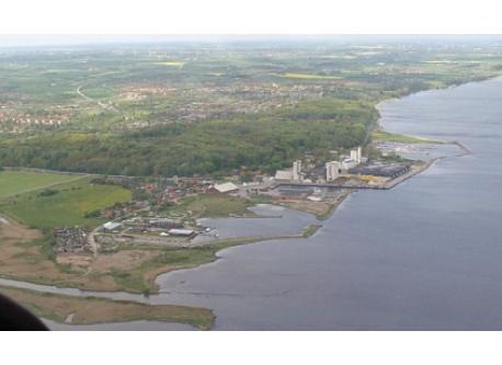 Aerial photo of Skive