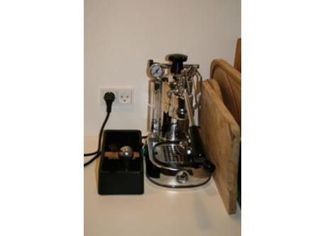 Our lovely espresso machine