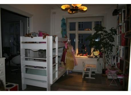 Kids room with bunkbed