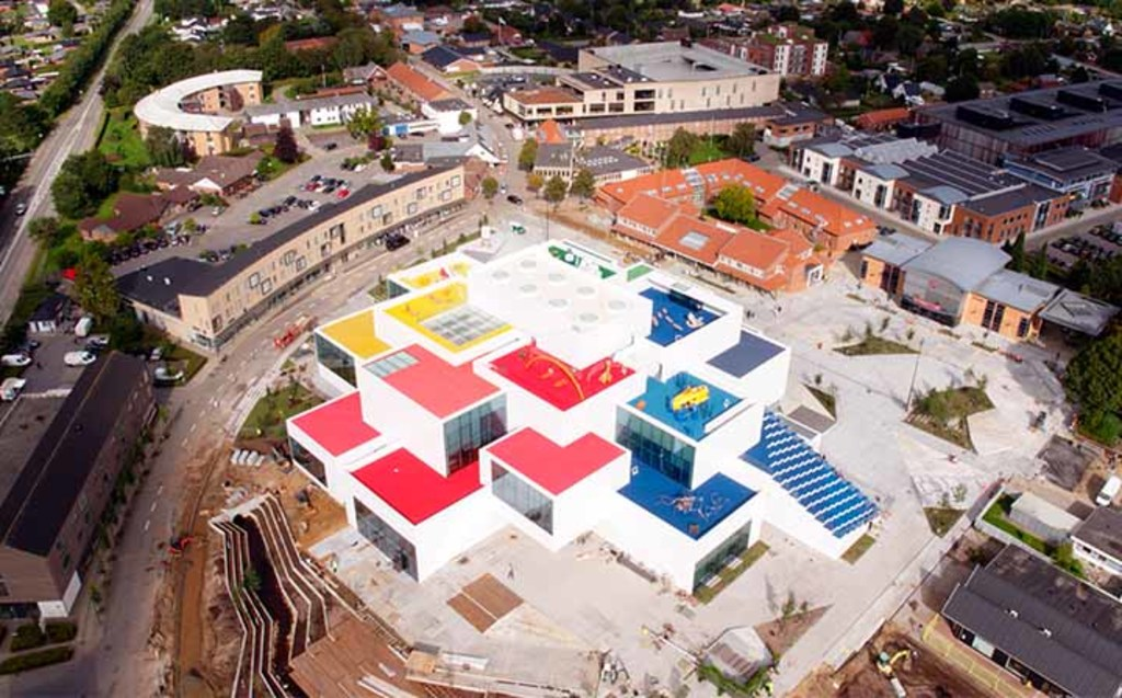 Lego House an experience center in Billund, opened 2017