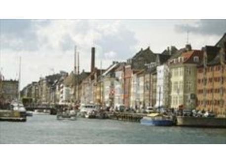 The old habour of Copenhagen- Nyhavn with plenty of high class restaurants