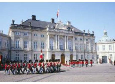 Amalienborg - the castle