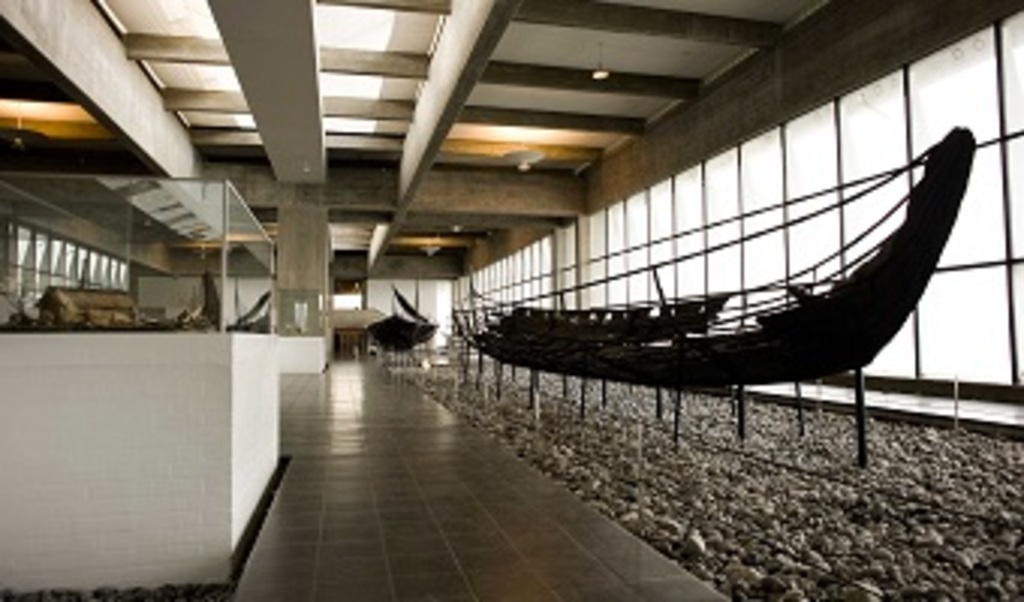 Visit the viking ship museum in Roskilde and take a look at the viking ships from the 11th century's construction and history