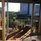 1. balcony: Morning sun
