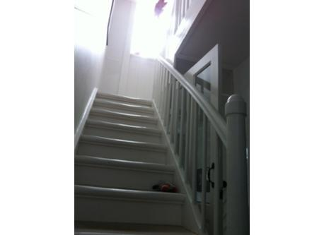 Stairs to 1st and 2nd floor