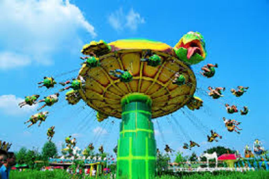 Bon-Bon land (amusementpark). 30 min by car.