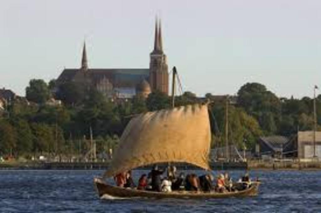The viking ships in Roskilde. 40 min. by car.