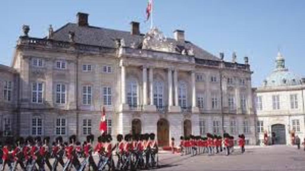 """""""Amalienborg"""" the Queens castle. 1 hour by car."""