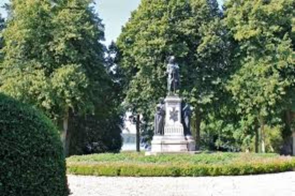 The garden at Sorø academy