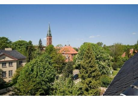 Jesus Church 100 meters - View from the roof terrace