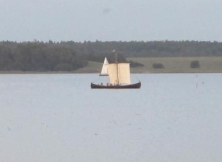 small wiking ship