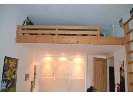 Small loft room