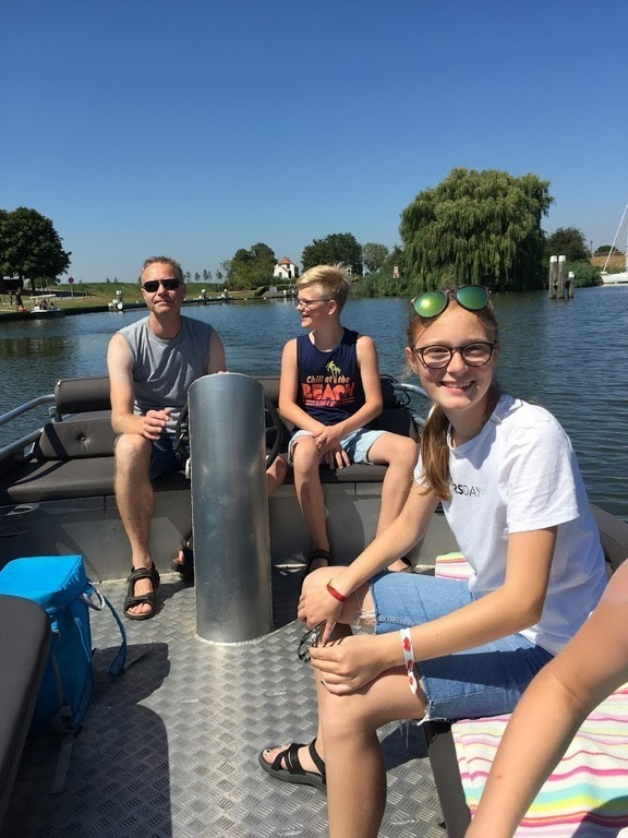 The Netherlands 2018 - Boat trip from Beneden Sas