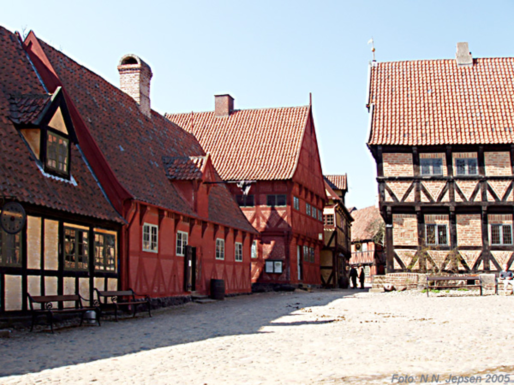 "From museum ""The old town"" (Den gamle by) in Aarhus."