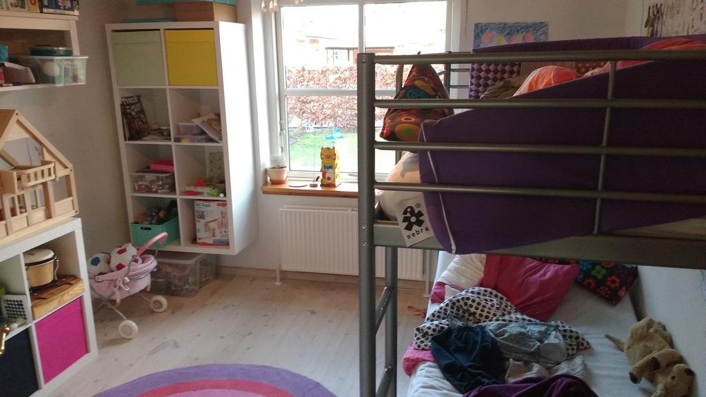 Bedroom 2 - double bunk bed