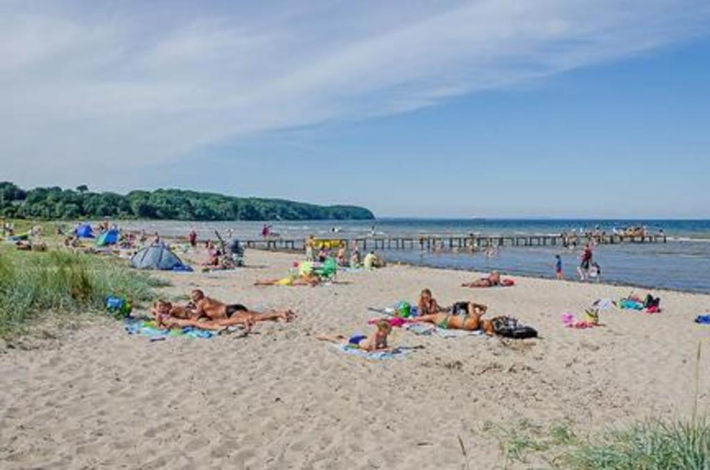Beach in Middelfart
