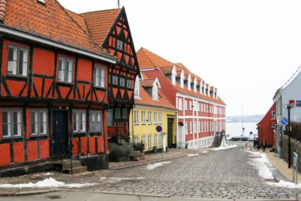 The old town i Middelfart