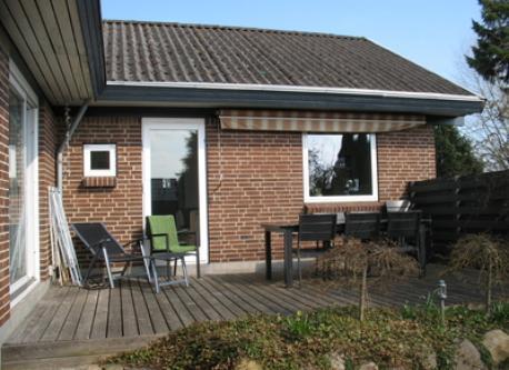 Our sunny terrace