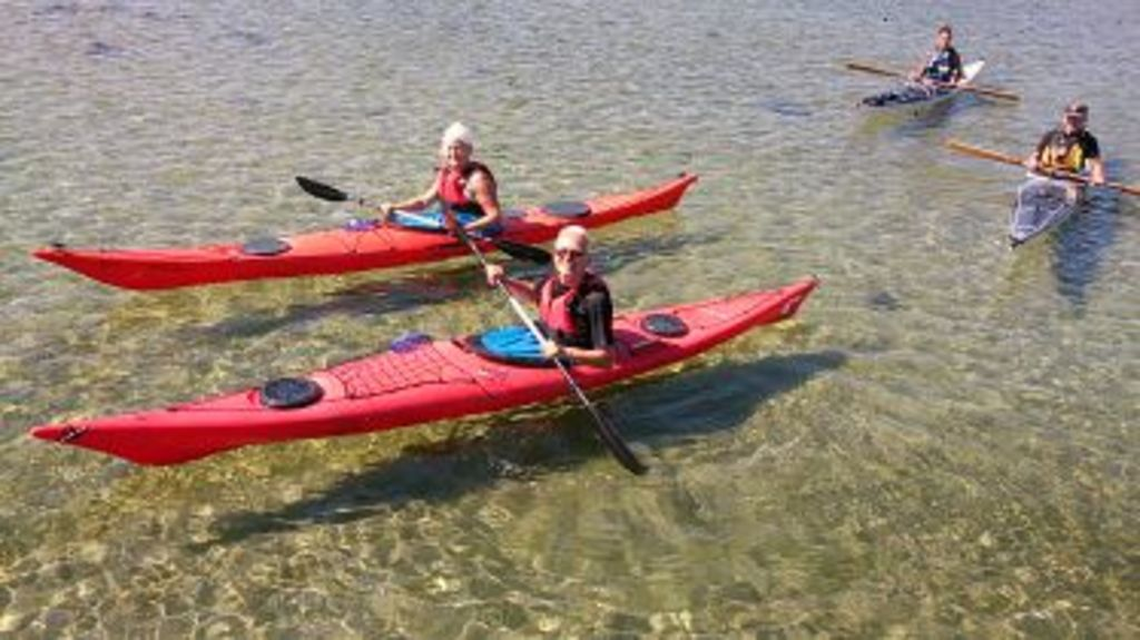 Kayaking in the archipelago, - very lovely - and you can easily rent kayaks and equipment.