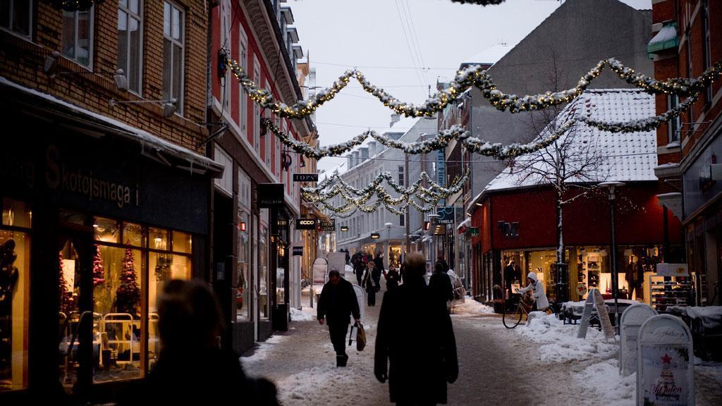 Svendborg at christmas.