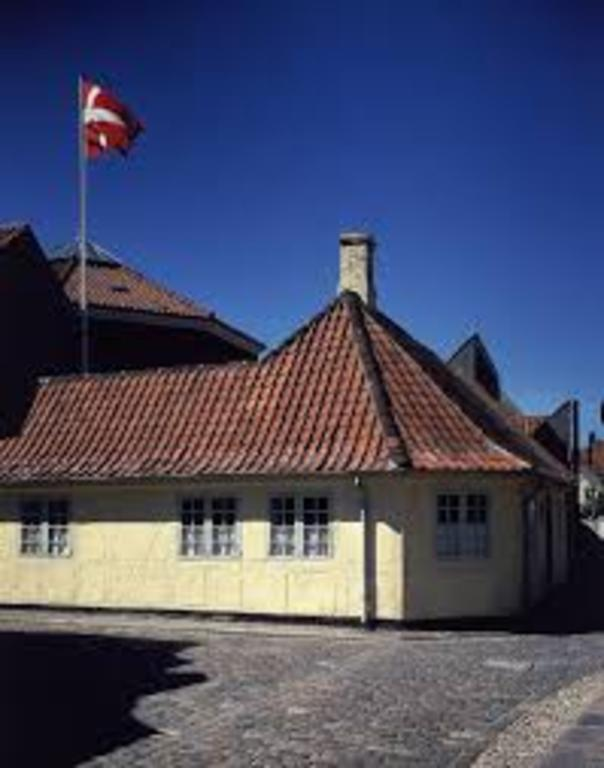 The childhood home of the fairytale writer Hans Christian Andersen in Odense 30 min by car.