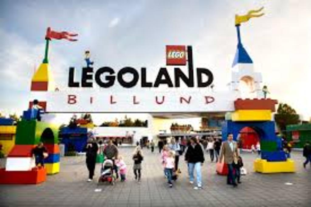 Legoland in Billund - 1,5 hours by car.