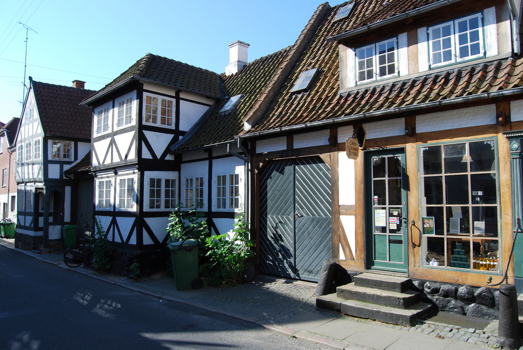 Some of the old houses in Svendborg