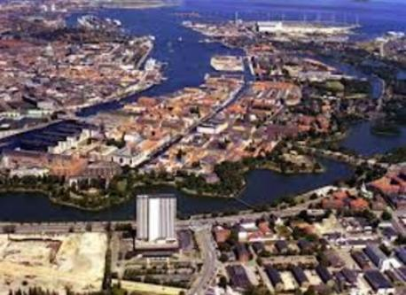Christianshavn from above