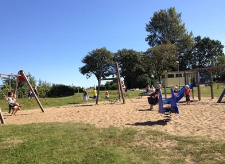 One of several local playgrounds (7 min walk)