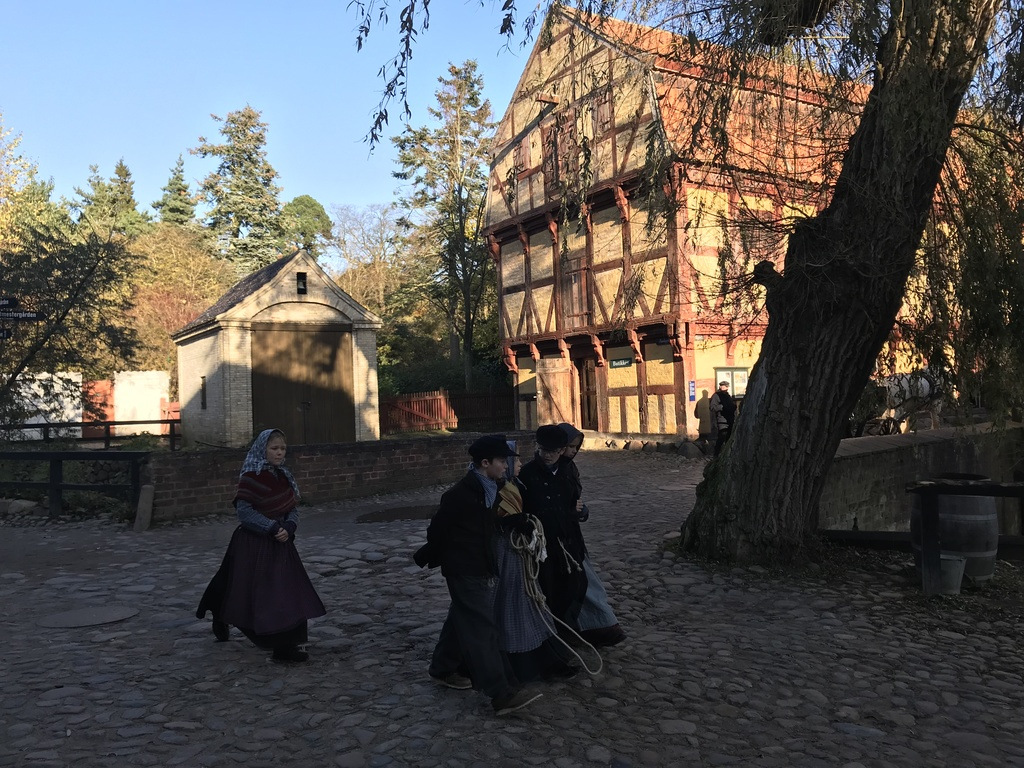 The Old Town - open air museum in the midst or Aarhus (15 min bike)