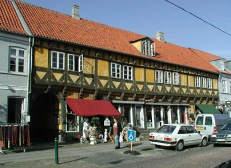 Old part of Køge