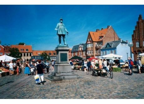 Old square in Køge