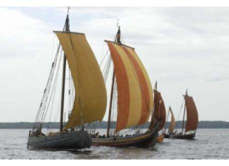 The famous Viking ships in Roskilde 15 minutes by car or by train from the house.